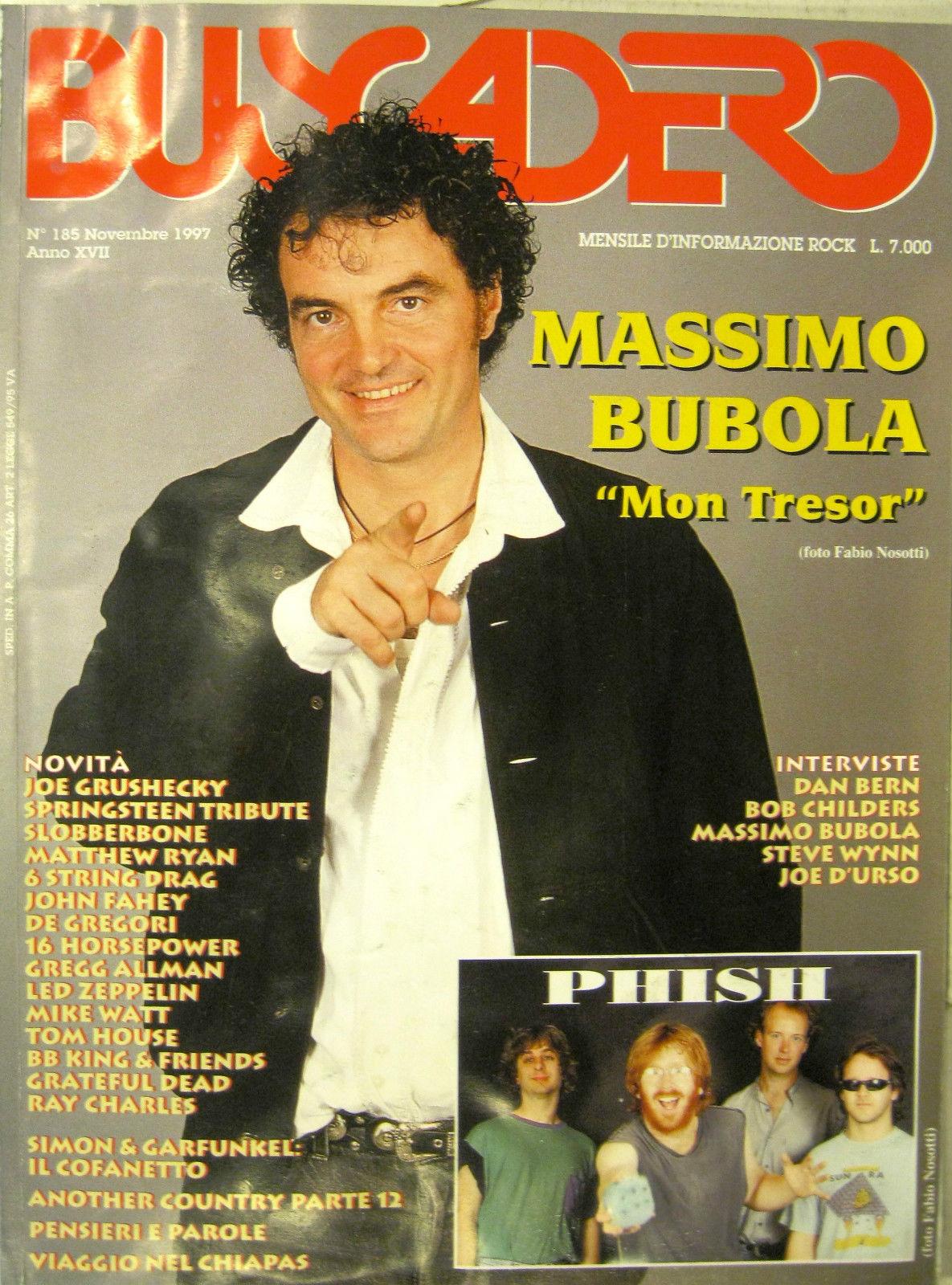 Buscadero n. 185 (novembre 1997)