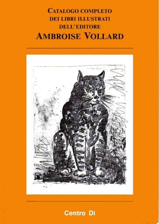 Catalogo completo dei libri illustrati dell'editore Ambroise Vollard