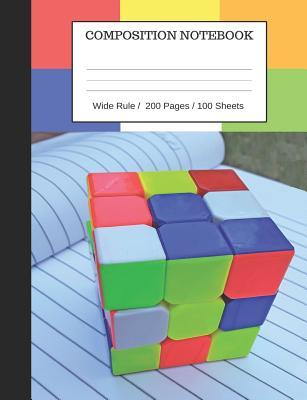 Puzzle Cube Notebook