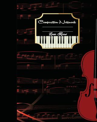Music Sheet Piano Notebook