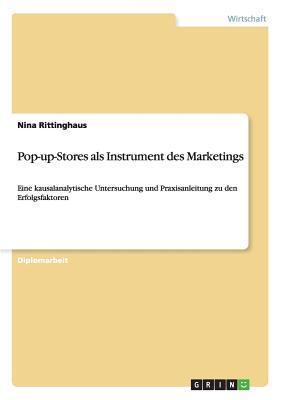 Pop-up-Stores als Instrument des Marketings