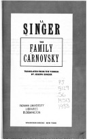 The family Carnovsky