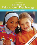 e-Study Guide for: Essentials of Educational Psychology by Jeanne E. Ormrod, ISBN 9780135016572