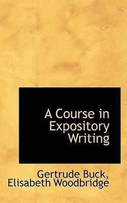 A Course in Expository Writing