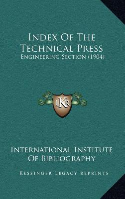 Index of the Technical Press