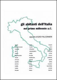 Gli abitanti dell'Italia nel primo millennio a.C