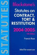 Statutes on Contract...