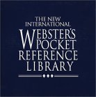 The New International Webster's Pocket Reference Library
