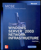 MCSE Examen 70-293 Windows Server 2003 Network Infrastructure