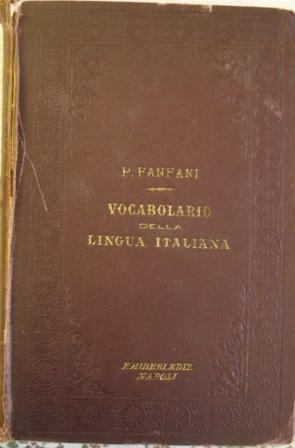 Novissimo vocabolario della lingua italiana