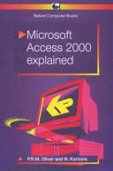 Microsoft Access 2000 Explained