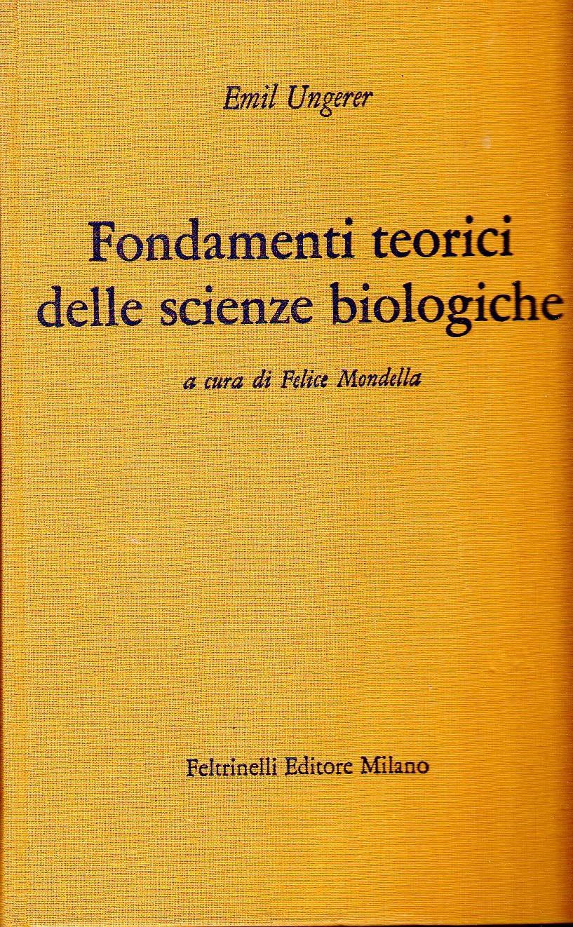 Fondamenti teorici delle scienze biologiche