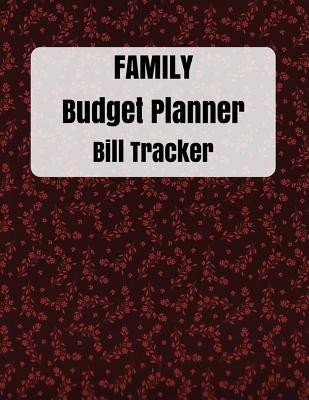 family budget planner and Bill Tracker
