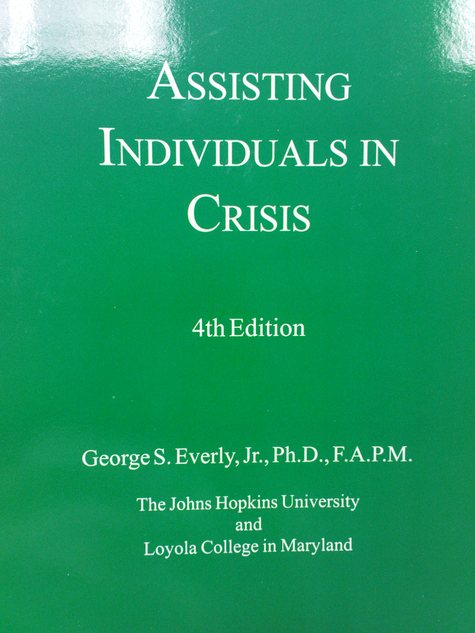 Assisting Individuals in Crisis