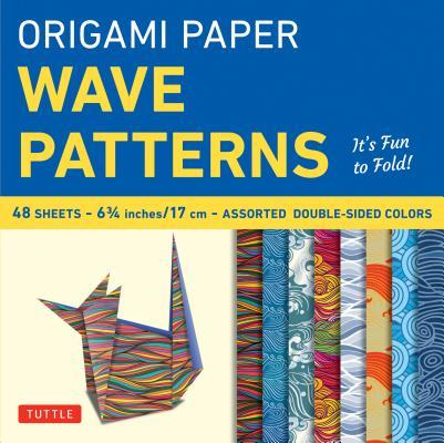 Origami Paper Wave P...