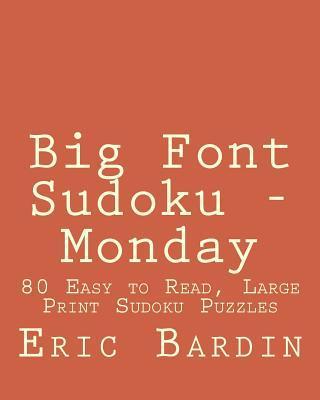 Big Font Sudoku - Monday