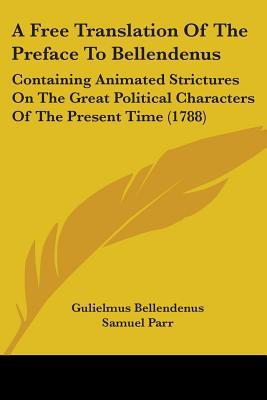 A Free Translation of the Preface to Bellendenus