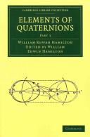 Elements of Quaternions