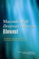 Macondo Well Deepwater Horizon Blowout