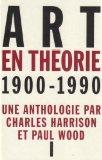 Art en théorie, 190...
