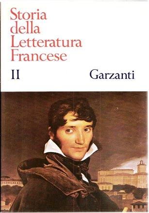 Storia della Letteratura Francese II