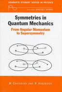 Symmetries in Quantum Mechanics