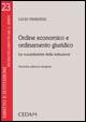 Ordine economico e ordinamento giuridico. La sussidiarietà delle istituzioni