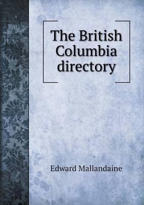 The British Columbia Directory