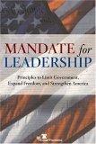 Mandate for Leadership