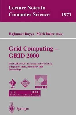 Grid Computing--Grid 2000
