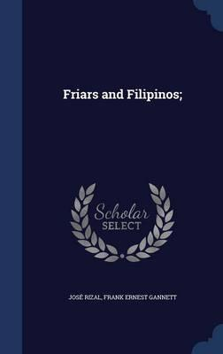 Friars and Filipinos...