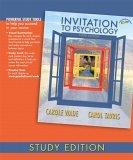Invitation to Psychology: Study Edition