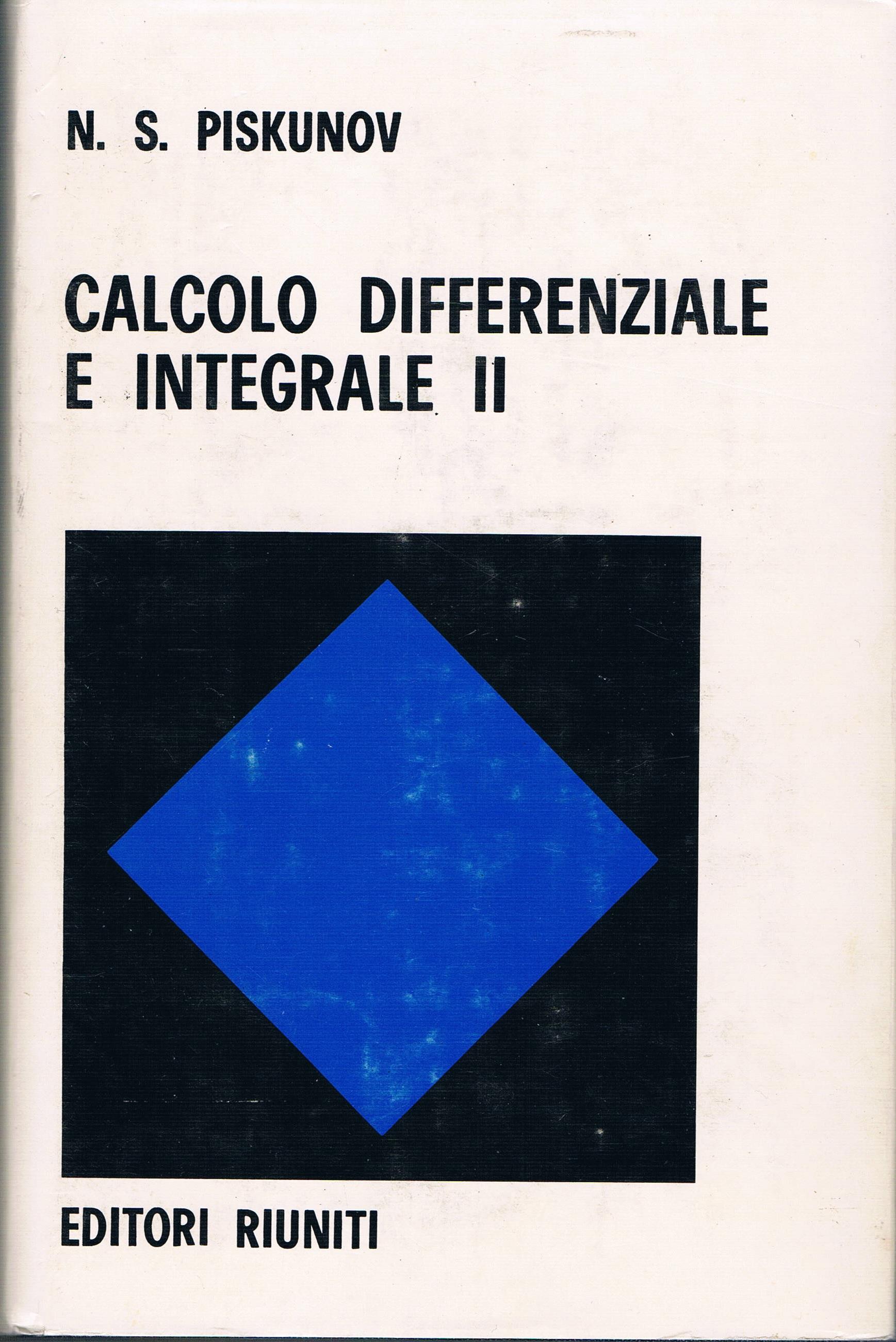 Calcolo differenziale e integrale II
