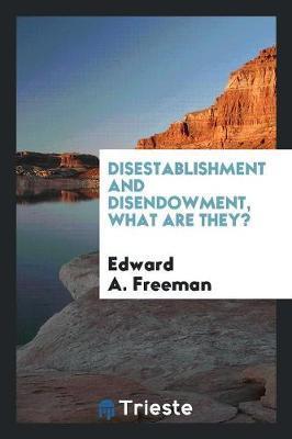 Disestablishment and...