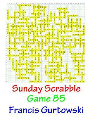 Sunday Scrabble Game 85