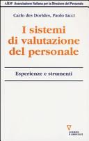 I sistemi di valutazione del personale. Esperienze e strumenti