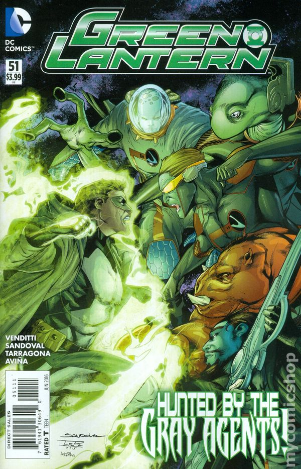 Green Lantern Vol.5 #51