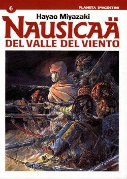 Nausicaä del valle del viento #6 (de 6)