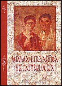 Minima epigraphica et papyrologica