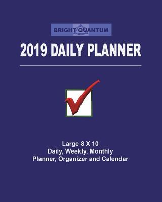 Bright Quantum 2019 Daily Planner