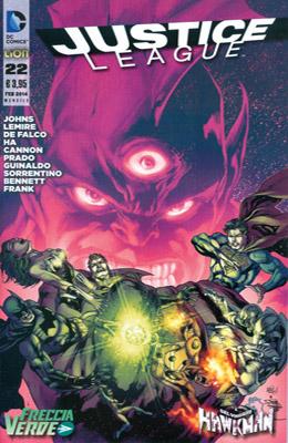 Justice League n. 22