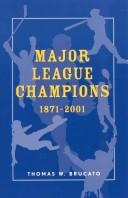 Major league champions, 1871-2001