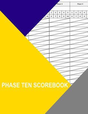 Phase Ten Scorebook
