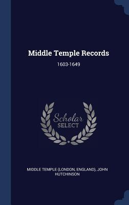 Middle Temple Records