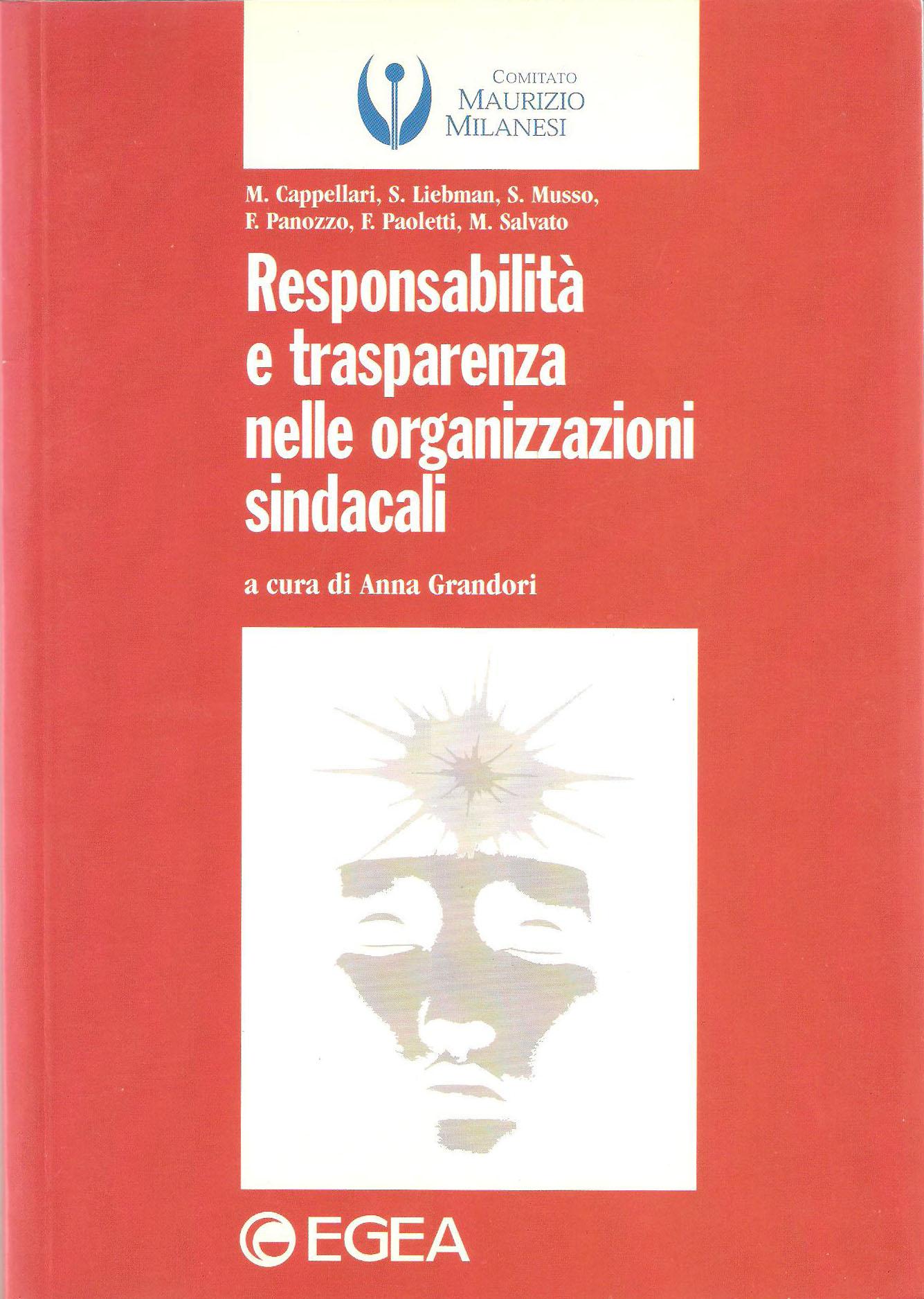 Responsabilità e trasparenza nelle organizzazioni sindacali