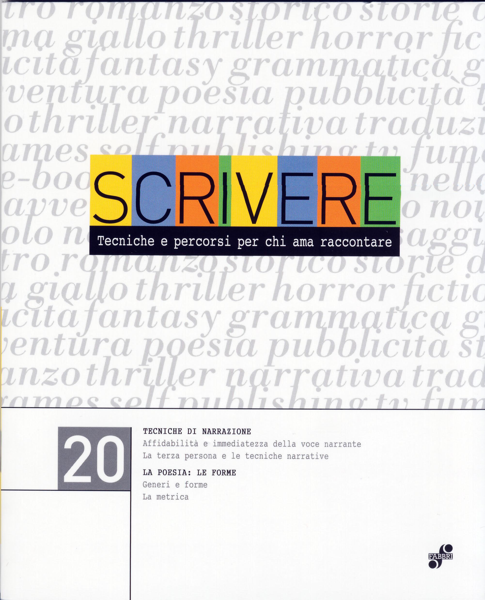 Scrivere - vol. 20