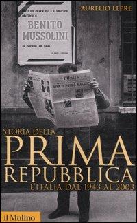 Storia della prima Repubblica