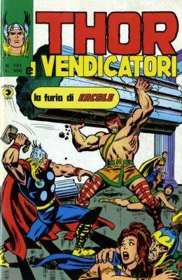 Thor e i Vendicatori (Il Mitico Thor) n. 131