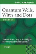 Quantum wells, wires...