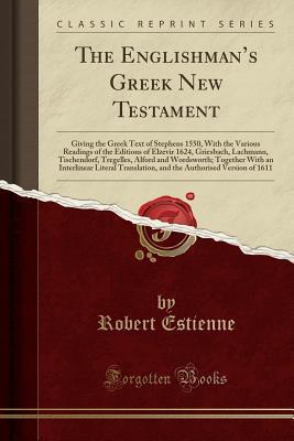 The Englishman's Greek New Testament